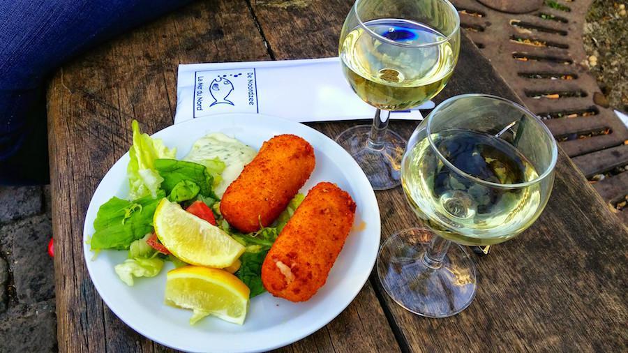 Garnaalkroketten bij de Noordzee - La Cucina