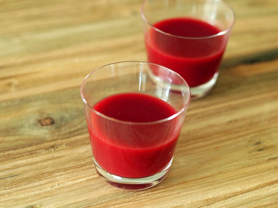 Gazpacho van rode biet - La Cucina