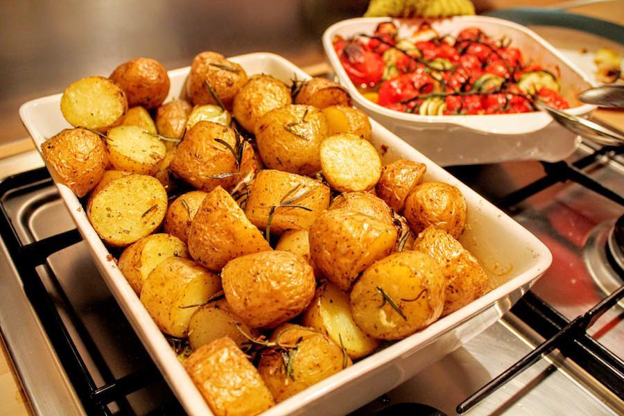 Aardappeltjes in de oven met rozemarijn - La Cucina