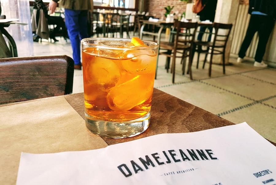 Damejeanne - La Cucina