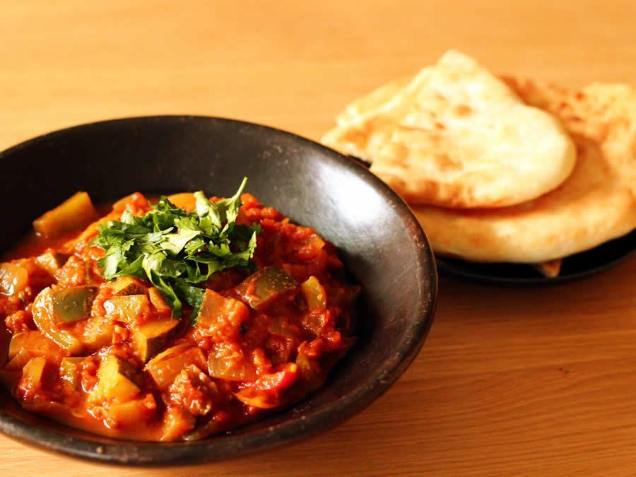 Indische groenten kadai